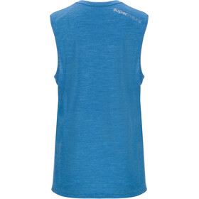 super.natural M's Movement Tanktop Vallarta Blue Melange